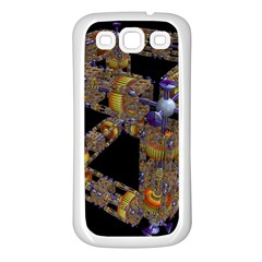 Machine Gear Mechanical Technology Samsung Galaxy S3 Back Case (white) by Nexatart