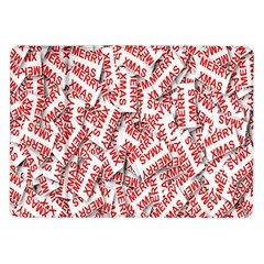 Merry Christmas Xmas Pattern Samsung Galaxy Tab 10 1  P7500 Flip Case by Nexatart