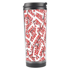 Merry Christmas Xmas Pattern Travel Tumbler