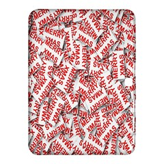 Merry Christmas Xmas Pattern Samsung Galaxy Tab 4 (10 1 ) Hardshell Case  by Nexatart