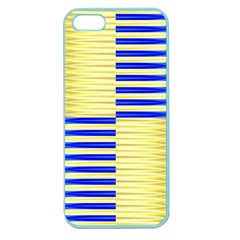Metallic Gold Texture Apple Seamless Iphone 5 Case (color)