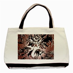 Metal Lighted Background Light Basic Tote Bag (two Sides)