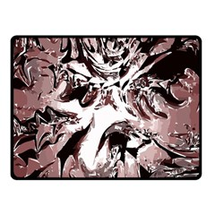 Metal Lighted Background Light Fleece Blanket (small)