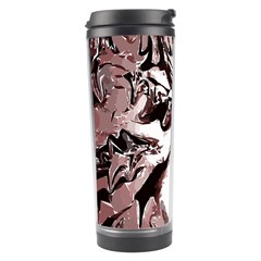 Metal Lighted Background Light Travel Tumbler