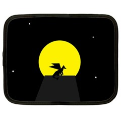 Moon And Dragon Dragon Sky Dragon Netbook Case (large)
