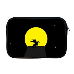 Moon And Dragon Dragon Sky Dragon Apple Macbook Pro 17  Zipper Case by Nexatart