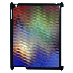 Metallizer Art Glass Apple Ipad 2 Case (black)