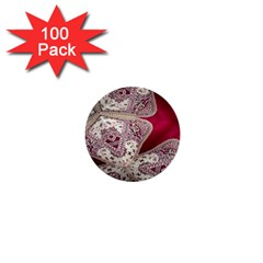 Morocco Motif Pattern Travel 1  Mini Buttons (100 Pack)  by Nexatart