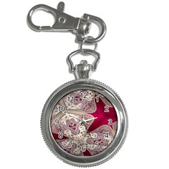 Morocco Motif Pattern Travel Key Chain Watches by Nexatart