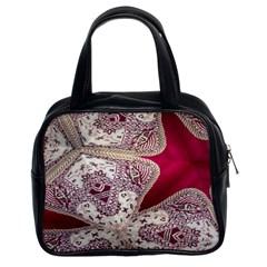 Morocco Motif Pattern Travel Classic Handbags (2 Sides) by Nexatart