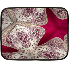 Morocco Motif Pattern Travel Fleece Blanket (mini) by Nexatart