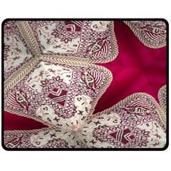Morocco Motif Pattern Travel Fleece Blanket (medium)  by Nexatart