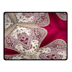 Morocco Motif Pattern Travel Fleece Blanket (small) by Nexatart