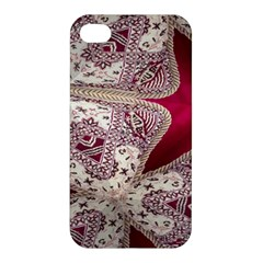 Morocco Motif Pattern Travel Apple Iphone 4/4s Premium Hardshell Case by Nexatart