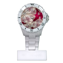 Morocco Motif Pattern Travel Plastic Nurses Watch by Nexatart