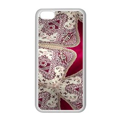 Morocco Motif Pattern Travel Apple Iphone 5c Seamless Case (white) by Nexatart