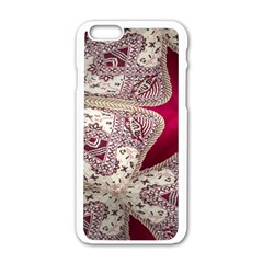 Morocco Motif Pattern Travel Apple Iphone 6/6s White Enamel Case by Nexatart
