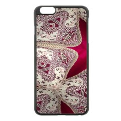 Morocco Motif Pattern Travel Apple Iphone 6 Plus/6s Plus Black Enamel Case by Nexatart
