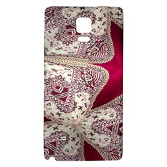 Morocco Motif Pattern Travel Galaxy Note 4 Back Case by Nexatart