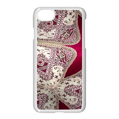 Morocco Motif Pattern Travel Apple Iphone 7 Seamless Case (white) by Nexatart