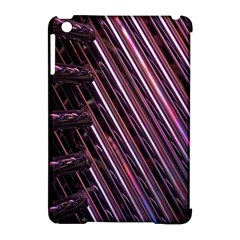 Metal Tube Chair Stack Stacked Apple Ipad Mini Hardshell Case (compatible With Smart Cover) by Nexatart
