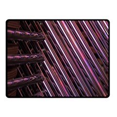 Metal Tube Chair Stack Stacked Double Sided Fleece Blanket (small)