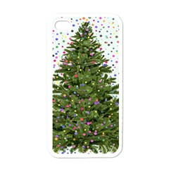 New Year S Eve New Year S Day Apple Iphone 4 Case (white)