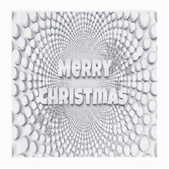 Oints Circle Christmas Merry Medium Glasses Cloth by Nexatart