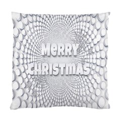 Oints Circle Christmas Merry Standard Cushion Case (two Sides)