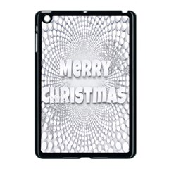 Oints Circle Christmas Merry Apple Ipad Mini Case (black) by Nexatart