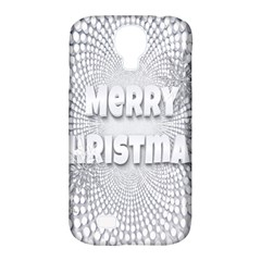 Oints Circle Christmas Merry Samsung Galaxy S4 Classic Hardshell Case (pc+silicone) by Nexatart