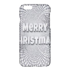 Oints Circle Christmas Merry Apple Iphone 6 Plus/6s Plus Hardshell Case by Nexatart