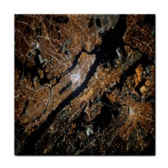 Night View Tile Coasters by Nexatart