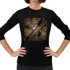 Night View Women s Long Sleeve Dark T Shirts