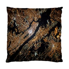 Night View Standard Cushion Case (two Sides)