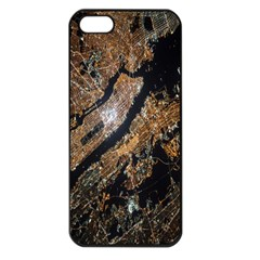 Night View Apple Iphone 5 Seamless Case (black) by Nexatart