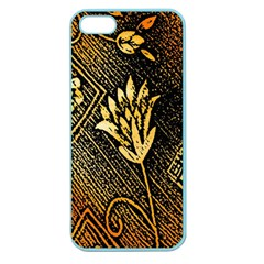 Orange Paper Patterns For Scrapbooking Apple Seamless Iphone 5 Case (color)