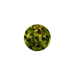 Olive Seamless Camouflage Pattern 1  Mini Buttons by Nexatart