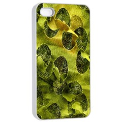 Olive Seamless Camouflage Pattern Apple Iphone 4/4s Seamless Case (white)