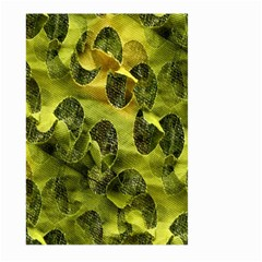 Olive Seamless Camouflage Pattern Large Garden Flag (two Sides)