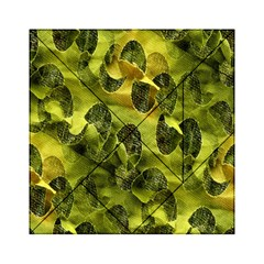 Olive Seamless Camouflage Pattern Acrylic Tangram Puzzle (6  X 6 ) by Nexatart