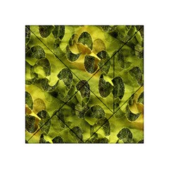 Olive Seamless Camouflage Pattern Acrylic Tangram Puzzle (4  X 4 ) by Nexatart