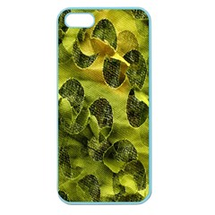 Olive Seamless Camouflage Pattern Apple Seamless Iphone 5 Case (color)