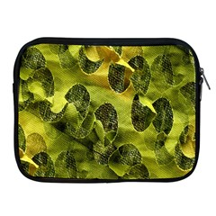 Olive Seamless Camouflage Pattern Apple Ipad 2/3/4 Zipper Cases by Nexatart