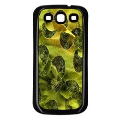 Olive Seamless Camouflage Pattern Samsung Galaxy S3 Back Case (black)