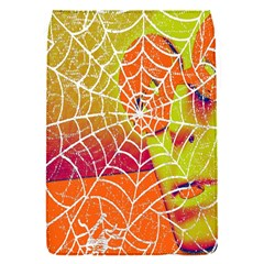 Orange Guy Spider Web Flap Covers (s)  by Nexatart