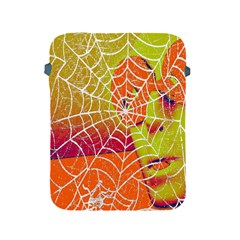 Orange Guy Spider Web Apple Ipad 2/3/4 Protective Soft Cases