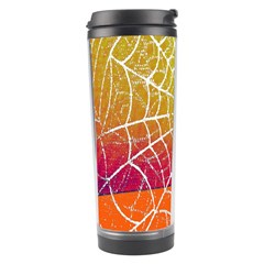 Orange Guy Spider Web Travel Tumbler