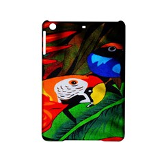 Papgei Red Bird Animal World Towel Ipad Mini 2 Hardshell Cases