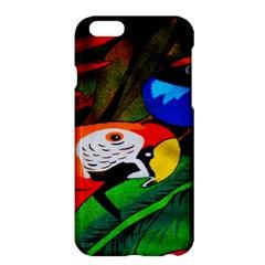 Papgei Red Bird Animal World Towel Apple Iphone 6 Plus/6s Plus Hardshell Case by Nexatart